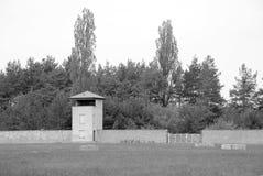 Mirador of Nazi concentration camp Stock Image