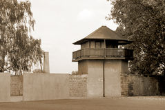 Mirador of Nazi concentration camp Royalty Free Stock Photography