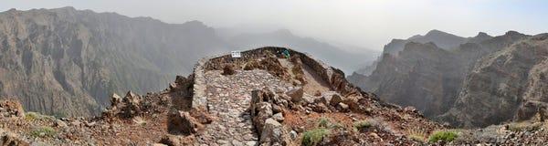 Mirador near Roque de los Muchachos (La Palma, Canary Islands) Stock Images