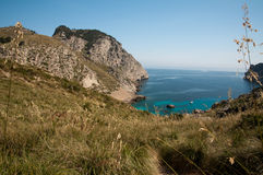 Mirador next to cap de formentor Stock Photography