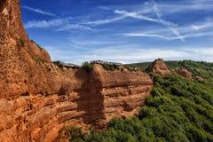 Mirador. Orellan belvedere, Las Medulas Natural Partk, Spain Stock Photo