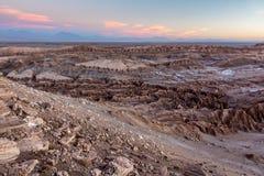 Mirador Piedra Del Coyote - Sonnenuntergang Stockfoto