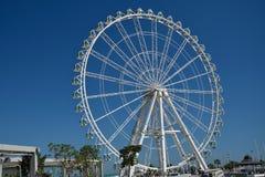 The Mirador Princess. A ferris wheel in Avenida de Aragón, Valencia Stock Photos