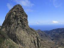 Mirador Roque fa Agando, La Gomera Immagini Stock Libere da Diritti