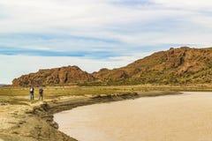Miradores de Darwin Landscape, la Argentina fotografía de archivo libre de regalías