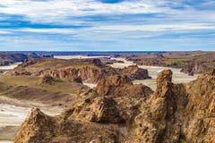 Miradores DE Darwin, Santa Cruz Argentina royalty-vrije stock foto