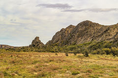Miradores DE Darwin, Santa Cruz Argentina stock foto's