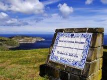 Miradouro de Santa Iria. Sao Miguel. Açores Fotos de Stock