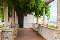 Miradouro de Santa Luzia, Lisboa Imágenes de archivo libres de regalías