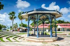 Miradouro do mercado de Marigot - St Martin Foto de Stock