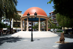 Miradouro na praça da cidade, Estepona Fotos de Stock Royalty Free