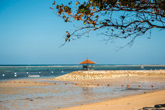 Miradouro para a meditação na costa Fotos de Stock Royalty Free