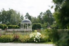 Miradouro perto da lagoa fotografia de stock royalty free