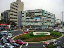 Miraflores center. Miraflores city center Peru Lima Stock Photo