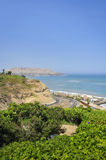 Miraflores District landscapes in Lima, Peru Stock Photo