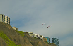 Miraflores district. Lima, Peru Royalty Free Stock Photography