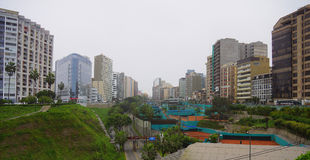 Miraflores district, Lima Peru Royalty Free Stock Photos