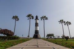 Miraflores-Leuchtturm lizenzfreie stockfotografie