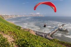 Miraflores Lima Peru Lizenzfreie Stockfotografie