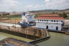 Miraflores Locks, Panama Canal Royalty Free Stock Image