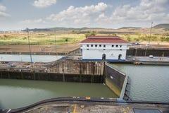 Miraflores Locks, Panama Canal Stock Images
