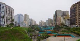 Miraflores område, Lima Peru Royaltyfria Foton