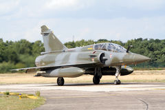 Mirage 2000 jetfighter plane Stock Photography