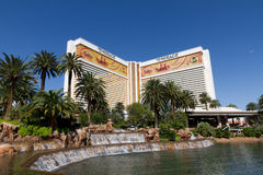 The Mirage Casino in Las Vegas. The Mirage Hotel and Casino in Las Vegas Nevada.  Photo taken on May 13, 2012 Stock Image