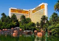 The Mirage Casino in Las Vegas Royalty Free Stock Photography