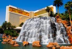 The Mirage Casino in Las Vegas royalty free stock image
