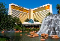 The Mirage Casino in Las Vegas Stock Image