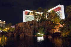 The Mirage Casino in Las Vegas Stock Images