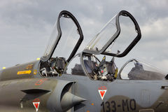 Mirage 2000 cockpit Royalty Free Stock Images