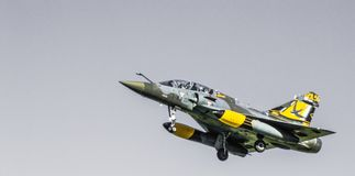 Mirage 2000D Couteau_Delta images libres de droits