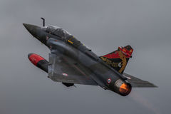 Mirage 2000D. FAIRFORD, UK - JULY 2017:   Mirage 2000D at the Royal International Air Tattoo RIAT Royalty Free Stock Photography