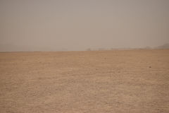 Mirage dans le désert Image libre de droits