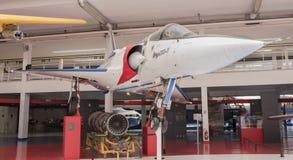 Mirage de Dassault 2000 1984 dans le musée de l'astronautique et du poids du commerce Images libres de droits