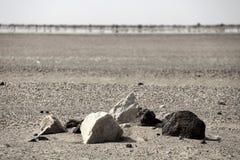 Mirage de monticule et de désert d'enterrement Photos libres de droits