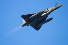 Mirage 2000 fighter jet flyby Stock Photo