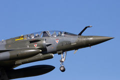 Mirage 2000 fighter jet Stock Images