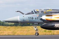 Mirage 2000 French fighter jet Stock Photos