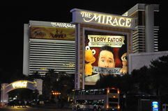 Mirage Hotel and Casino in Las Vegas Stock Image