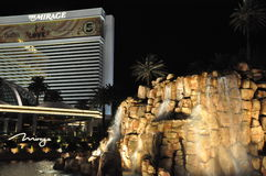 Mirage Hotel and Casino in Las Vegas Stock Photography