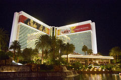 The Mirage Hotel Casino in Las Vegas Stock Image