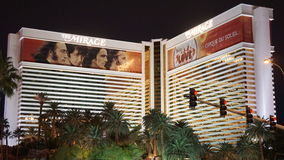 The Mirage Hotel and Casino in Las Vegas Royalty Free Stock Photo