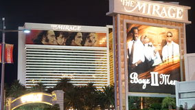 The Mirage Hotel and Casino in Las Vegas Stock Photos