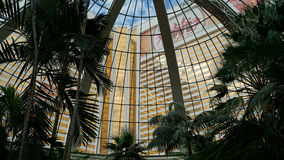 The Mirage Hotel and Casino in Las Vegas Royalty Free Stock Images