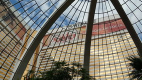 The Mirage Hotel and Casino in Las Vegas Royalty Free Stock Photography