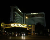 The Mirage, Hotel & Casino, Las Vegas, NV Stock Photography
