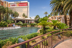 The Mirage Hotel and Casino Royalty Free Stock Image
